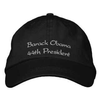 Barack Obama, 44th President Embroidered Hat