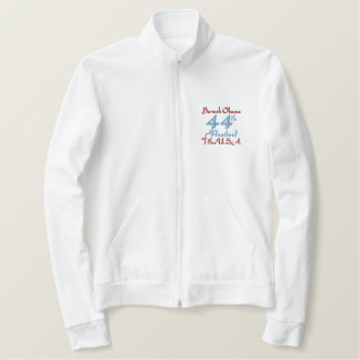 Barack Obama 44th President of the U.S.A. 2012 Embroidered Jacket