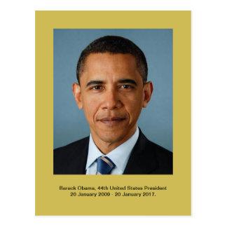 Barack Obama, 44th United States President Postcard