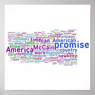 Barack Obama Acceptance Speech Poster