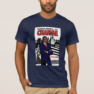 Barack Obama: Agent of C.H.A.N.G.E. T-Shirt