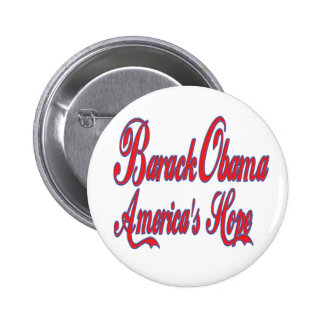 Barack Obama America's Hope 2 Inch Round Button