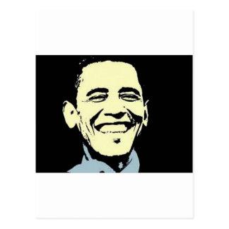 Barack Obama Art Postcard
