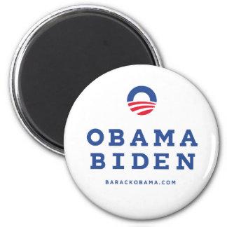 """Barack Obama Biden 2012 With """"O"""" Logo Magnet"""