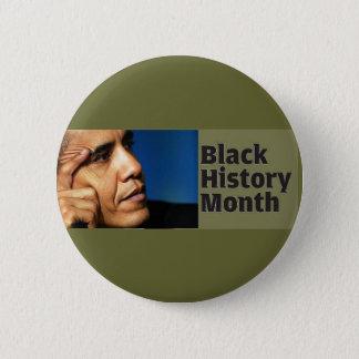 Barack Obama Black History Month Button