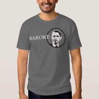 Barack Obama = broke shirt (Baroke)