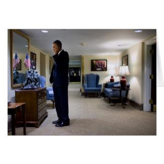 Barack Obama Greeting Card