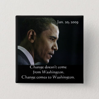 Barack Obama Change Button