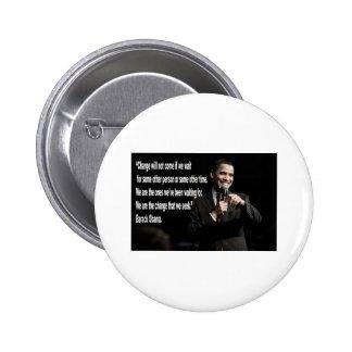 Barack Obama Change quote 2 Inch Round Button