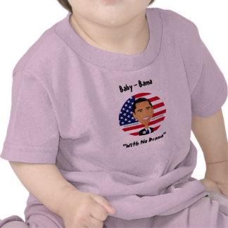 """Barack Obama - chemise, bébé - Bama, """"sans le T-shirts"""