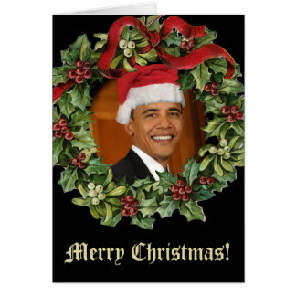 Barack Obama Christmas Cards