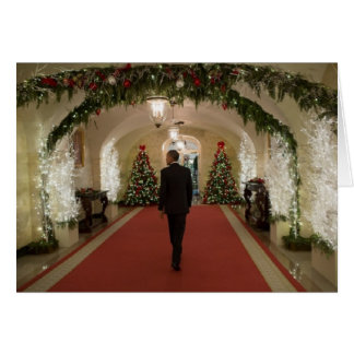 Barack Obama Christmas - Greeting Card