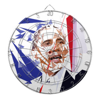 Barack Obama Dartboard