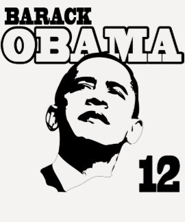 Barack Obama de 'rétro chemise 12 dames T-shirts