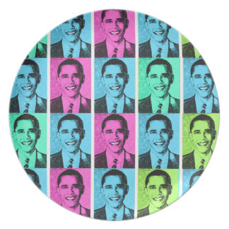 Barack Obama  Design  Zazzle  Plate