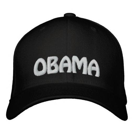 Barack Obama Embroidered Hat