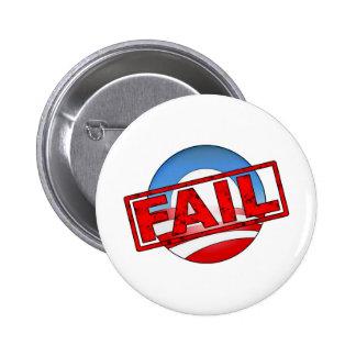 Barack Obama FAIL Pinback Buttons