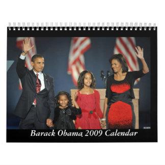 Barack Obama & Family 2009 Calendar