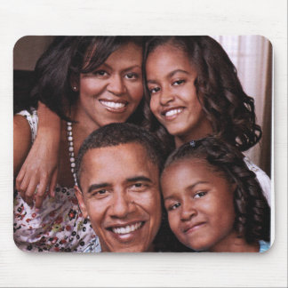 Barack Obama & Family_Mousepad Mouse Pad