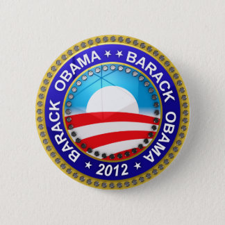 Barack Obama for president 2012 2 Inch Round Button
