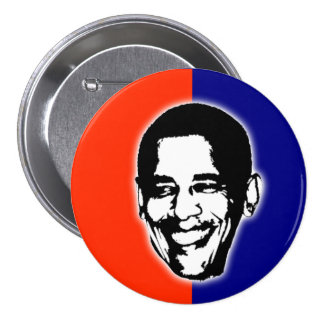 Barack Obama for President 3 Inch Round Button