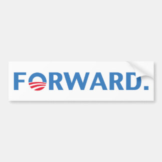 Barack Obama Forward (Blue) Bumper Sticker
