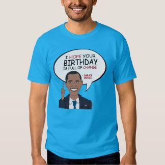 Barack Obama Greeting - Happy Birthday Shirt