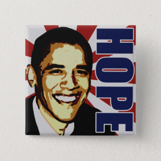Barack Obama Hope Button