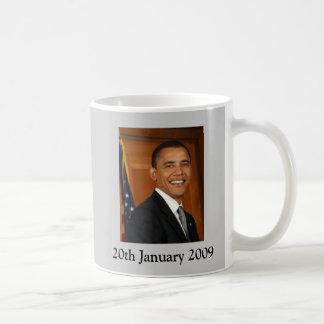 Barack Obama Inaugeration Mug