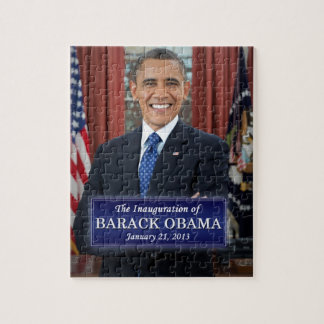 Barack Obama Inauguration 2013 Jigsaw Puzzle
