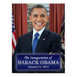 Barack Obama Inauguration 2013 Postcard