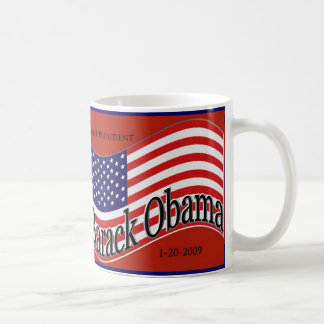 "Barack Obama Inauguration ""Change"" Mug"