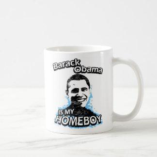 Barack Obama is my homeboy Classic White Coffee Mug