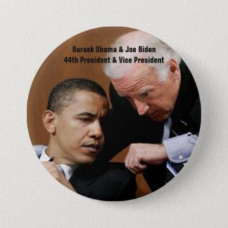 Barack Obama & Joe Biden 3 Inch Round Button