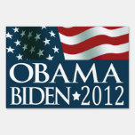 Barack Obama Joe Biden in 2012 Yard Sign
