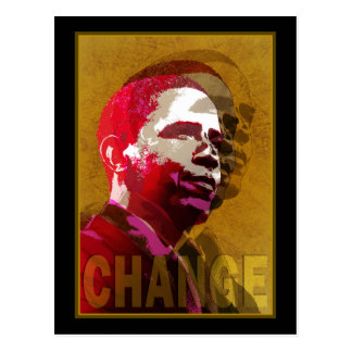 Barack Obama - Leadership Postcard