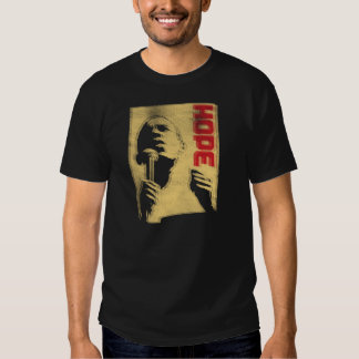Barack Obama - Leadership - Vintage Offset Print Tees