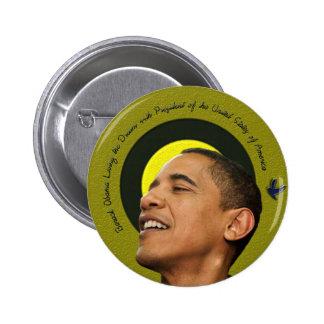 Barack Obama Living The Dream Pin