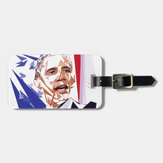 Barack Obama Luggage Tag