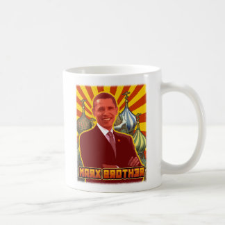 Barack Obama: Marx Brother Coffee Mug