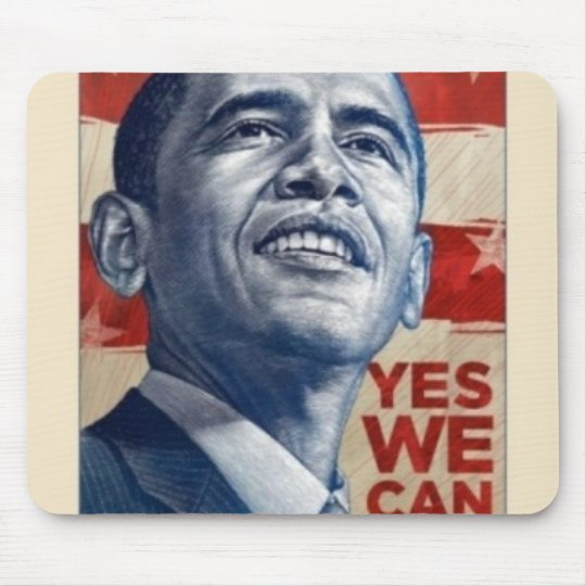 Barack Obama Mouse Pad