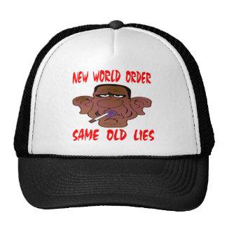 Barack Obama New World Order Same Old Lies Trucker Hat