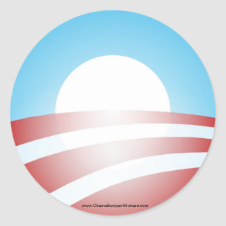 "Barack Obama ""O"" Sticker"