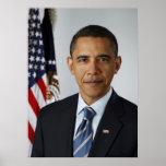 Barack Obama Official portrait Posters