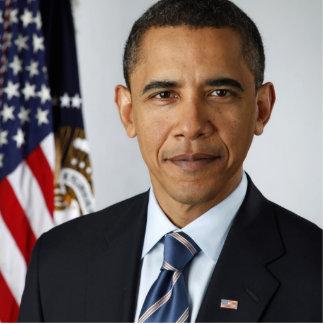 Barack Obama Official US Presidential Portrait Standing Photo Sculpture
