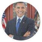 Barack Obama Plate