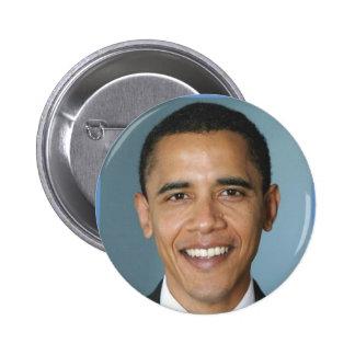 Barack Obama Portrait 2 Inch Round Button