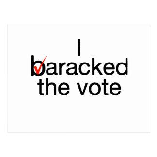 Barack Obama Post Card