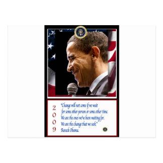 Barack Obama Poster Postcard