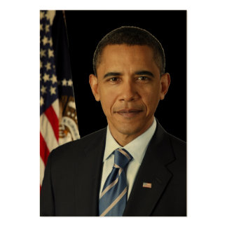 Barack Obama Presidential PORTRAIT US-Great Seal Large Business Card